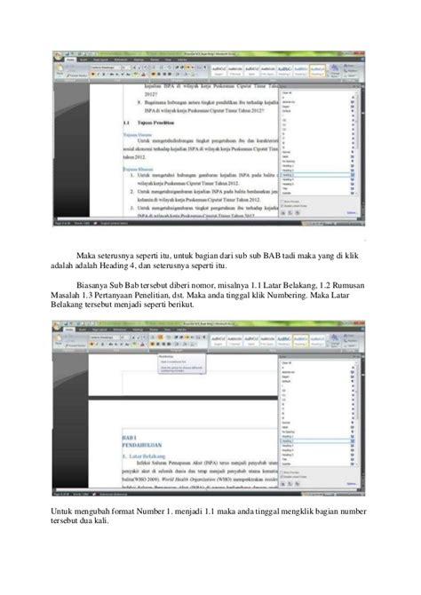 membuat daftar isi otomatis pada microsoft word cara membuat daftar isi otomatis pada microsoft office
