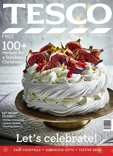 tesco christmas food tesco magazine 2017 by tesco magazine issuu