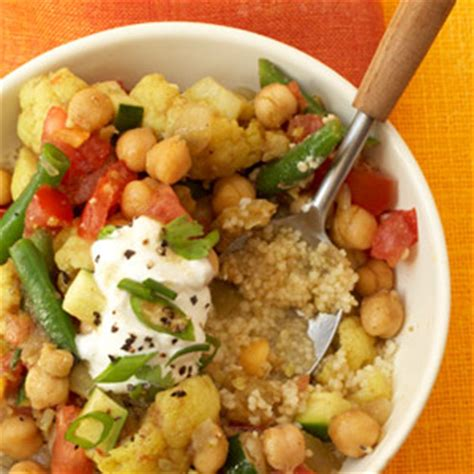 Curried Vegetable Stew With Couscous | Fitness Magazine