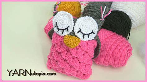 crochet pattern video tutorial by nadia crochet tutorial owl amigurumi using the crocodile stitch