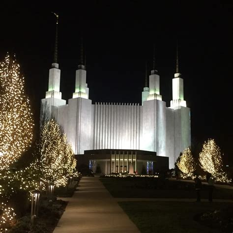 The Temple Yelp Mormon Temple Lights