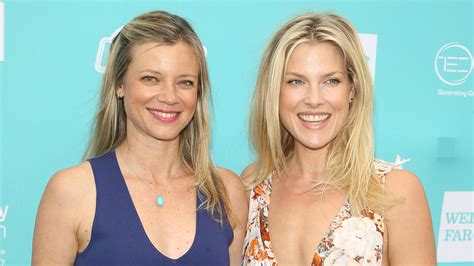 amy smart ali larter hit the sand at heal the bay beach