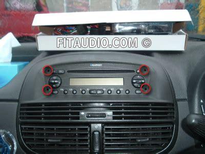 fiat punto car stereo car stereo fitting car stereo removal remove car