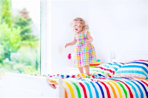 tips for girls in bed tips for transitioning your toddler to a big bed the