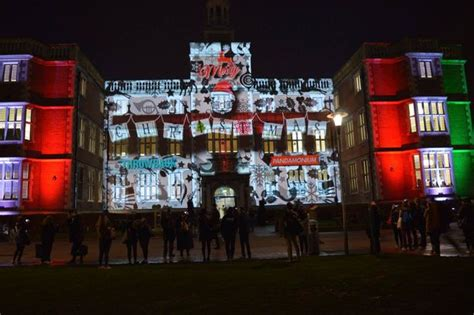 Spectacular Christmas Light Display By Newcastle Students Lights In Newcastle