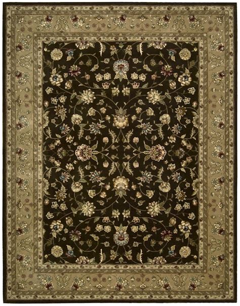 area rugs closeout nourison 2000 collection 2226 brown closeout area rug