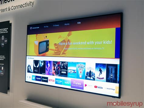 samsung 2019 tv apple s itunes and tv shows app is coming to samsung tvs in canada