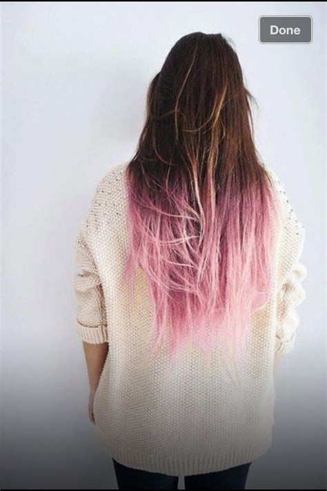 hair with colored tips 30 best dyed hair images on colourful hair
