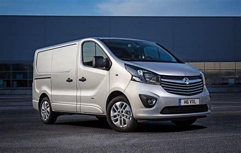 vauxhall vivaro company car and