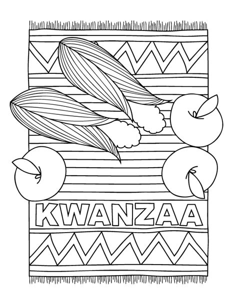 kwanzaa coloring pages celebrate kwanzaa with these ideas