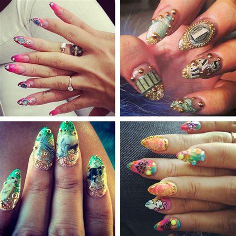 tutorial unghie instagram celebrity nails le unghie delle star su instagram
