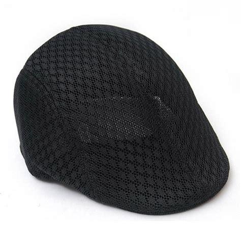 plain hat coloring page men women simple plain color breathable mesh summer flat