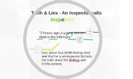 an inspector calls themes prezi truth lies an inspector calls by antony minders on prezi