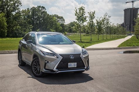 lexus atomic silver rx 350 review 2017 lexus rx 350 f sport canadian auto review