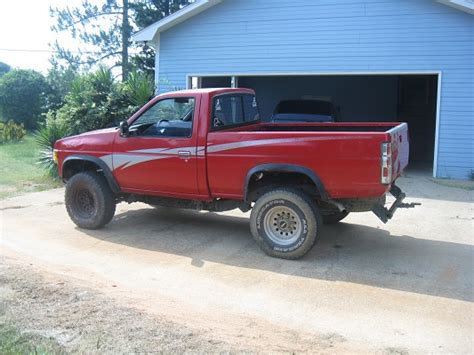 lifted nissan hardbody 1993 nissan hardbody 600 possible trade 100495291