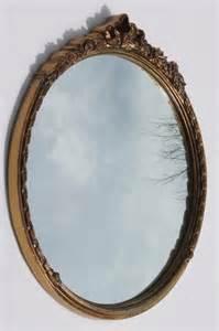 Fine Arts Chandeliers Vintage Carolina Mirror W Round Antique Gold Frame