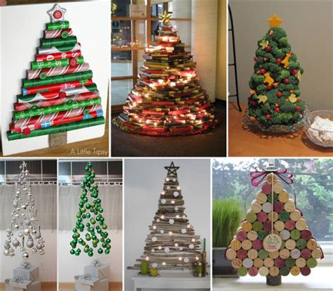 25 creative diy christmas tree ideas smiuchin