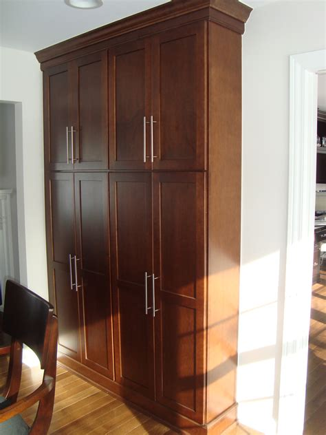 shallow kitchen cabinets tall shallow depth pantries when we take down part of