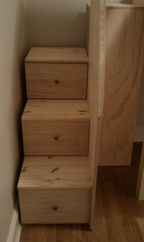 Bunk Bed Stairs Drawers Staircases With Drawers Loft Loft Bed With Stairs Woodworking Project Plans New Bedroom
