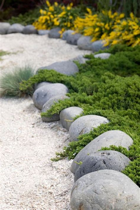 Rock Edging For Gardens Garden Edging Ideas Transform Your Garden Today