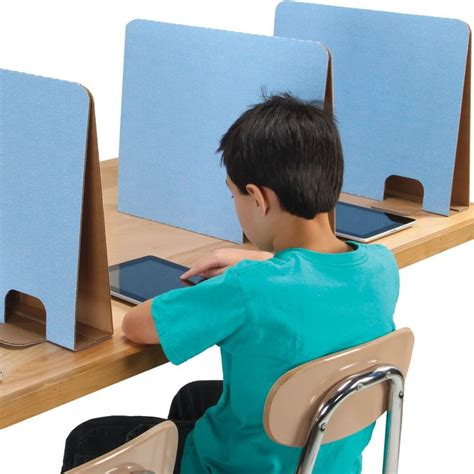 classroom desk dividers partitions really stuff privacy dividers