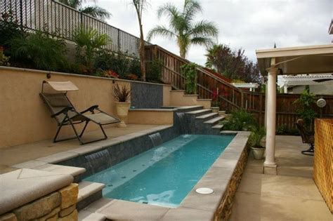pools for small spaces small spaces mediterranean pool san diego by