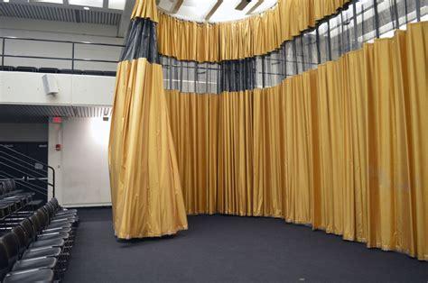 petra blaisse curtains piper auditorium harvard university inside outside