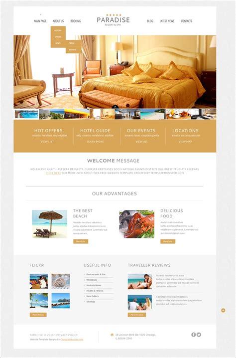 themes hotel wordpress free hotel wordpress theme