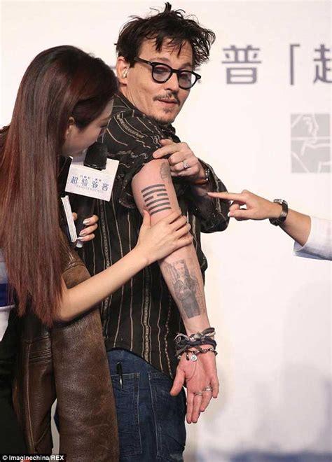 grav3yardgirl johnny depp tattoo johnny depp tattoos johnny depp and tattoos and body art