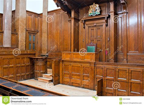 Hall Bench Oak by View Of Crown Court Room Inside St Georges Hall L Royalty