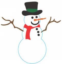 picture snowman clipart