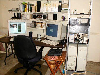 computer clean room benchtest rack