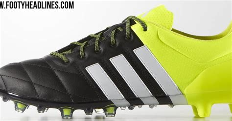 Adidas Boots Safety Leather adidas ace 2015 leather boots released footy headlines