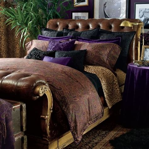 ralph lauren bedroom 1000 images about black watch and leopard bedroom on