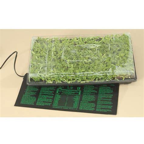 Heated Seedling Mat by Seedling Heat Mat Starter