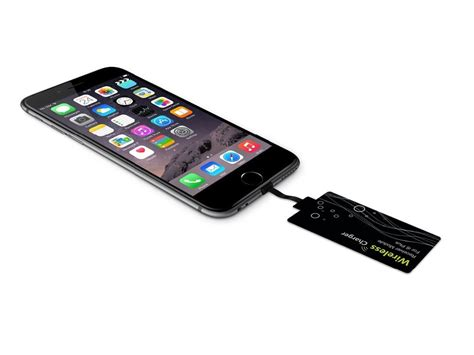 qi wireless receiver card for apple iphone 6s 6s plus