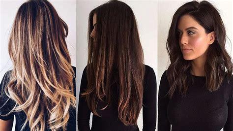 cortes de cabello largos modernos youtube cortes de cabello largo cabello largo 2017 youtube
