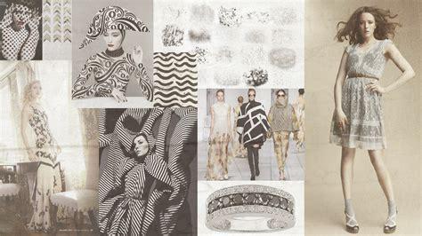 fashion design mood board red road studio black cream fashion mood board