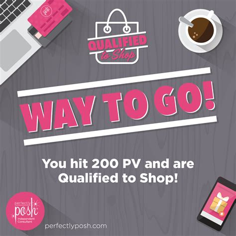 t o get qualified to shop posh box