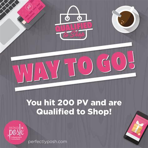 t o get qualified to shop posh box
