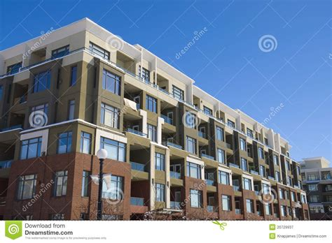 Multi Family Apartment Plans block of flats apartment building royalty free stock