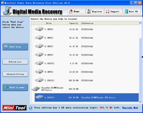memory card data recovery software full version free download with key perform memory card picture recovery free