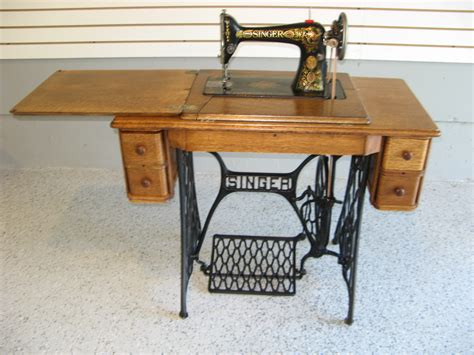 sewing machine cabinet singer early 1900s singer treadle sewing machine with 5