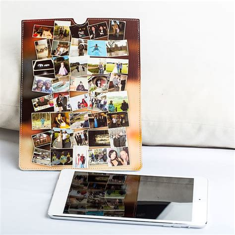 design your own home ipad photo ipad case design a personalised leather ipad case uk