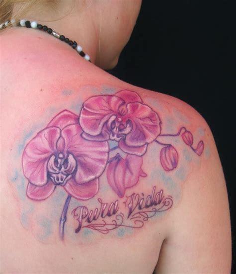 pura vida tattoo pura vida orchid by garancheski iii tattoonow