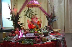 ganpati home decoration ganesh lovely telugu