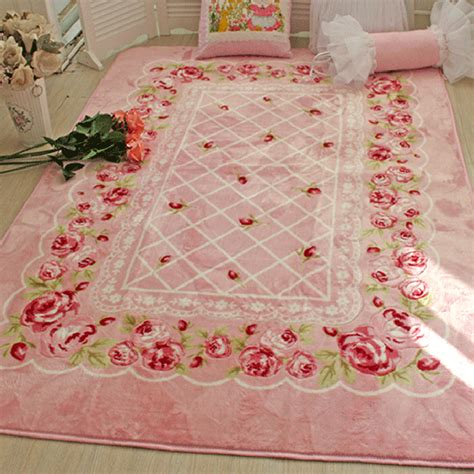Rosy Chic Rug by Shabby Chic Rug