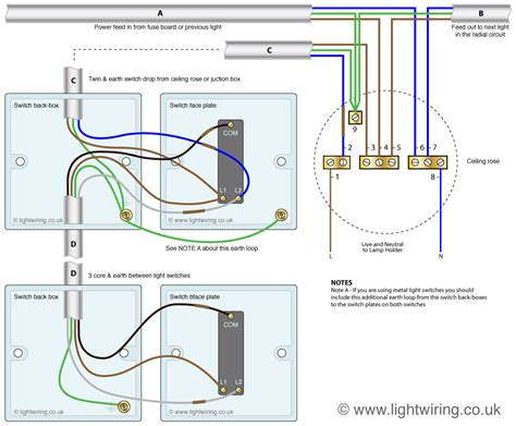 How To Wire A Light Switch by Lighting Wiring Diagram Light Wiring