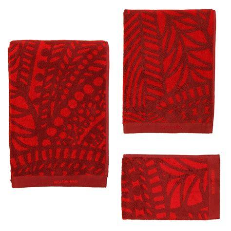 red towels bathroom marimekko vuorilaakso red bath towels marimekko towels