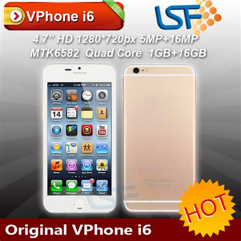 Hp Huawei Mirip Iphone vphone i6 harga dan spesifikasi hp murah mirip iphone 6